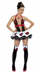 Sexy Wonderland Queen Costume Lingerie