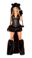 Deluxe Black Cat Costume