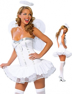 Sweet Adult Sexy Angel Costume