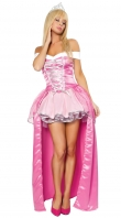Pink Deluxe Beauty Costume