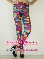Color Rectangular Leggings
