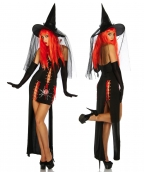 Black Widow Gown Halloween Costume