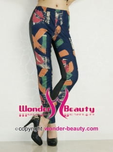 Fairy Tale World Splicing Leggings
