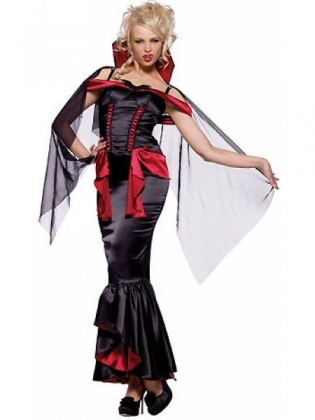 Vampire Mistress Halloween Costume