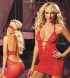 Red Lace Midnight Affair Chemise