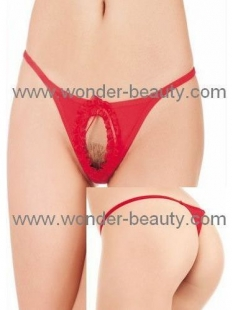 Red 6 PCS Sexy G-string