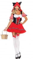 Fantasy Red Riding Wolf Costume