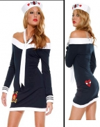 Navy Sexy Sailor Costume