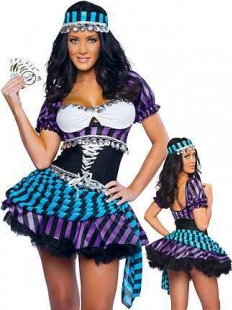 Fantasy Purple PokerStars Costume