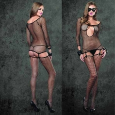 3 Piece Industrial Net Bodystocking Set