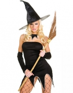 Black Adult Moonlight Witch Costume