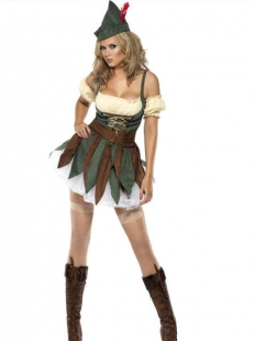 Brown Adult Sexy Pirate Costume