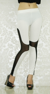 White Icon Contouring Shaping Leggings