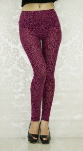 Rose Butterfly Fashion Seamless Leggings
