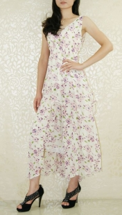 The Mountain Flower Long Dress
