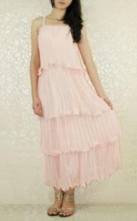 Dream Sweet Pink Cake Long Dress