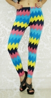Candy Color Diamond Seamless Leggings