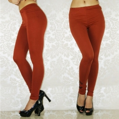 Coffee CHANEL Figure Shaping Leggings