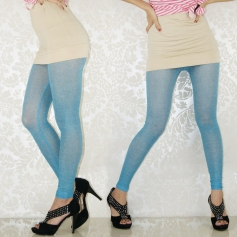 Purity Pale Blue Breathing Seamless Leggings