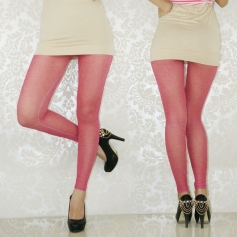 Purity Pink Breathing Seamless Leggings