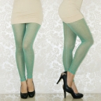 Purity Green Breathing Seamless Leggings