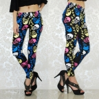Colour Skeleton Fashion Leggings