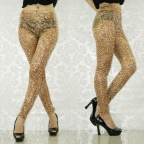 Golden Beautiful Dancer Leggings