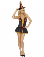 Adorable Girl Witch Halloween Costume