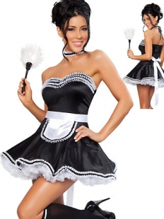 Polished French Maid Costume
