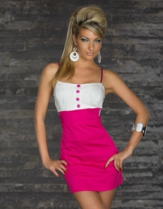 Pink Office Lady Fashion Dress