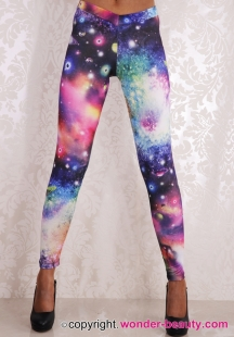 Gorgeous Planet Galaxy Leggings
