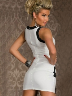 Classic White Club Dress