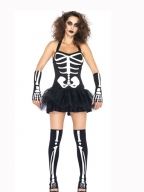 Day Of The Dead Woman Costume