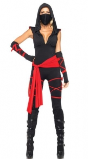 Imagination Red Sash Costume
