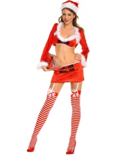 Sexy Mrs Claus Christmas Costume