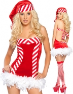 Sweet Candy Christmas Dress
