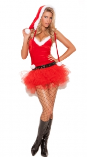 Sweetie Christmas Costume With Red Tutu