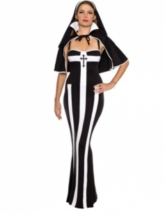 Sexy Nun Adult Womens Costume