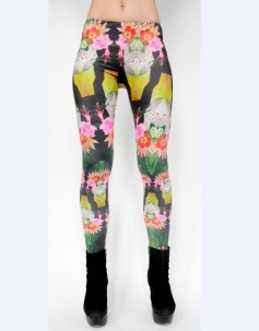 Charming Blooming  Floral Leggings