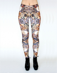 Luxury Numerous Jewelry Leggings