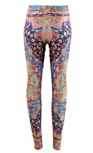 Classical Floral Banquet Leggings