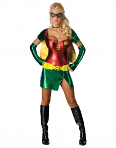 Sexy Superheroes Costume Green