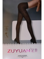 Black Square Pantyhose