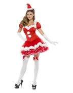 Royal Red Sweetheart Christmas Costume
