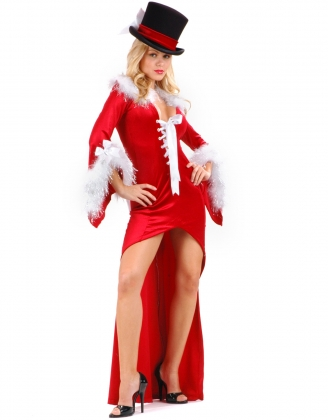 Santa leading First Lady Costume