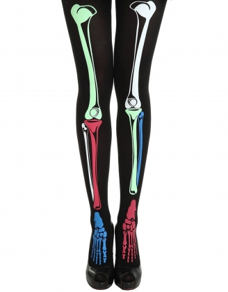 Colourful Mechanical Bone stockings