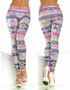 Geometric Shapes Leggings