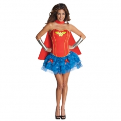 Sexy 3PC Wonder Heroine Costume
