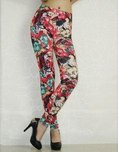 Floral Printing Leggings