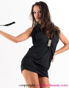 Sexy Black Mini Dress